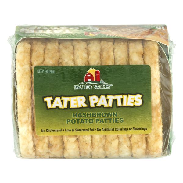 Pacific Valley Tater Patties - 10 ct