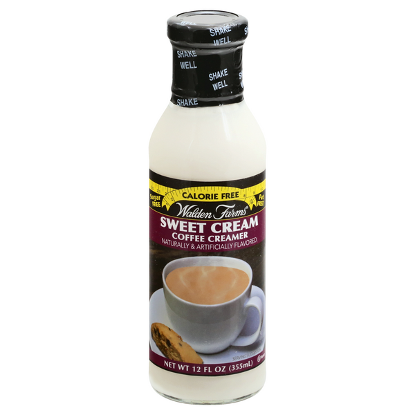 Walden Farms Coffee Creamer Sweet Cream Calorie Free