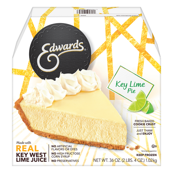Edwards Pie Key Lime Thaw & Serve Frozen