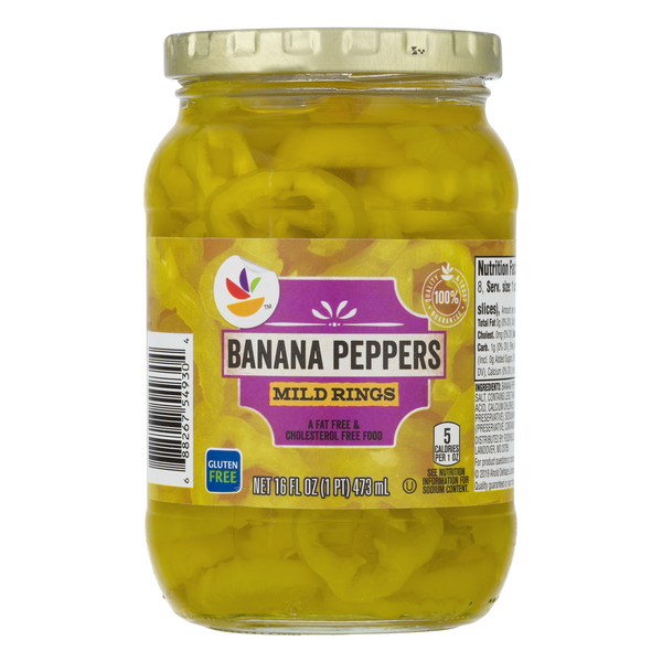 MARTIN'S Banana Peppers Mild Rings
