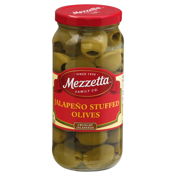 Mezzetta Olives Jalapeno Stuffed