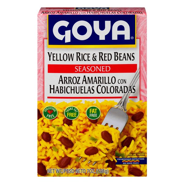 Goya Yellow Rice & Beans Red Seasoned