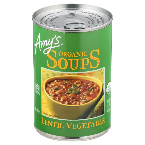 Amy's Lentil Vegetable Soup Organic