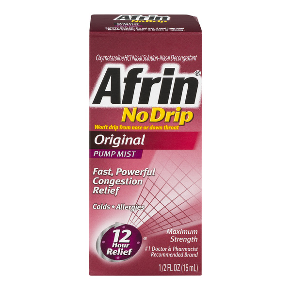 Afrin Pump Mist Original No Drip