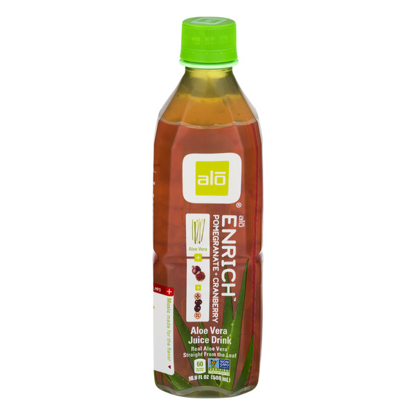 Alo Enrich Aloe Vera Juice Drink Pomegranate + Cranberry