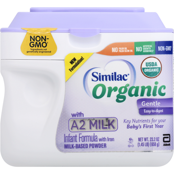Similac Organic with A2 Milk Infant Formula Powder