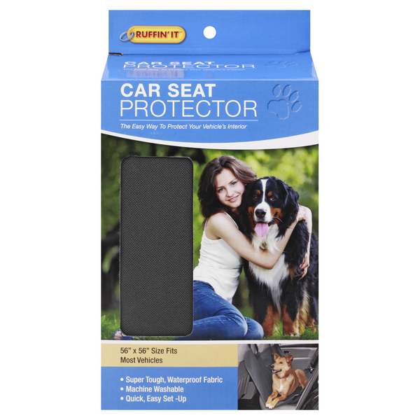 Ruffin' It Car Seat Protector