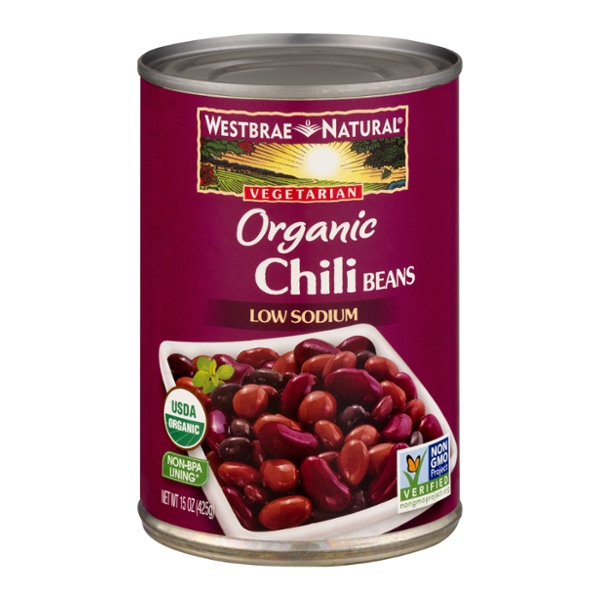 Westbrae Natural Chili Beans Low Sodium Vegetarian Organic