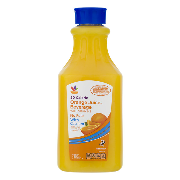 GIANT 50 Calorie Orange Juice Beverage w/Vitamins & Calcium No Pulp