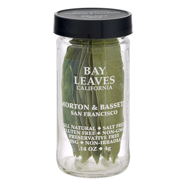 Morton & Bassett Bay Leaves California Gluten Free All Natural