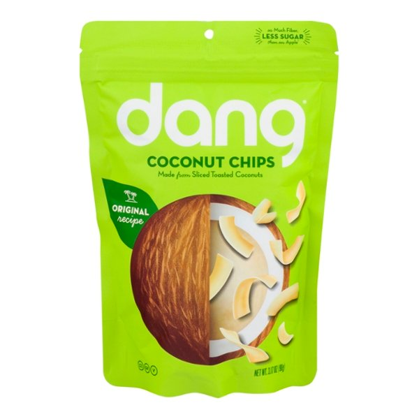 Dang Coconut Chips Toasted