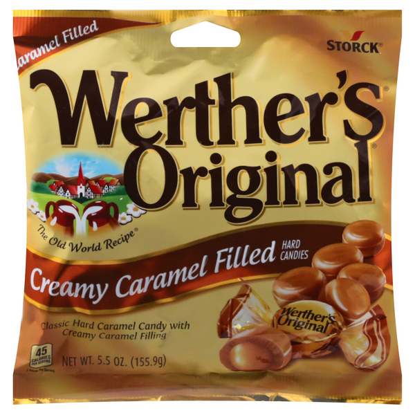Werther's Original Hard Candies Creamy Caramel Filled