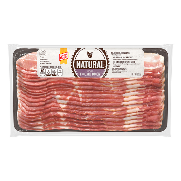 Oscar Mayer Natural Smoked Uncured Bacon