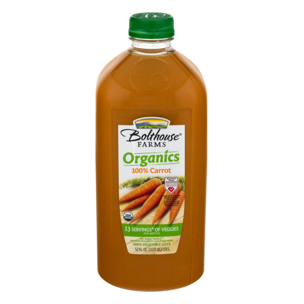 Bolthouse Farms Carrot Juice 100% Organic Fresh