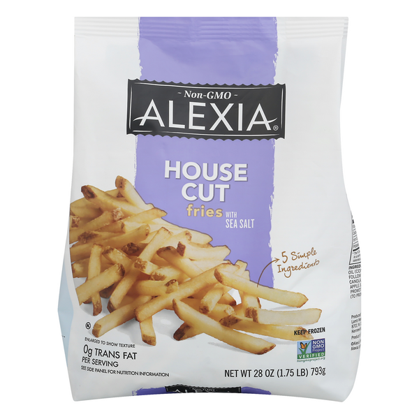 Alexia House Cut Fries with Sea Salt All Natural