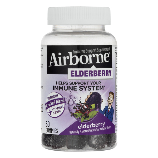 Airborne Immune Support Gummies Elderberry