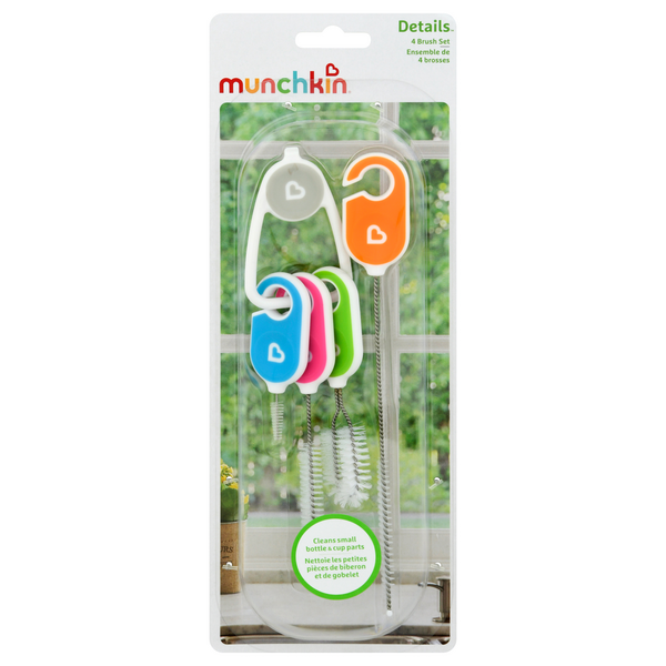 Munchkin Details Cleaning Brush Set