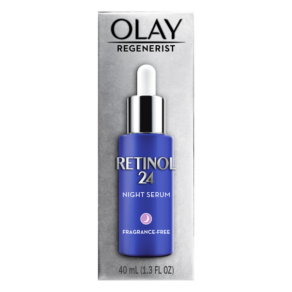 Olay Regenerist Night Serum Retinol 24 Fragrance-Free