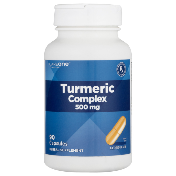 CareOne Turmeric Complex 500 mg Capsules