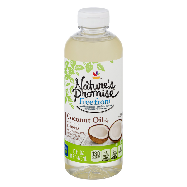 Nature's Promise Free from Refined Coconut Oil