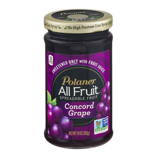 Polaner All Fruit Spreadable Fruit Concord Grape