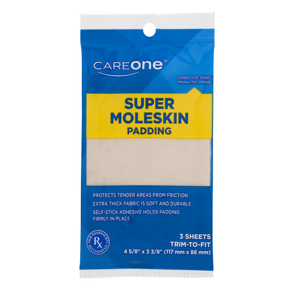 CareOne Super Moleskin Padding