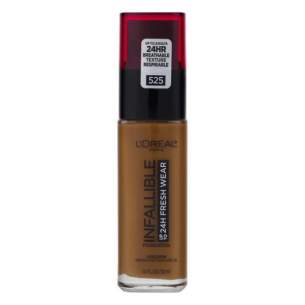 L'Oreal INFALLIBLE up to 24H Fresh Wear Foundation Deep Golden 525