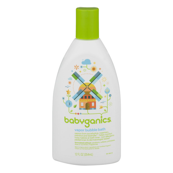 Babyganics Vapor Bubble Bath