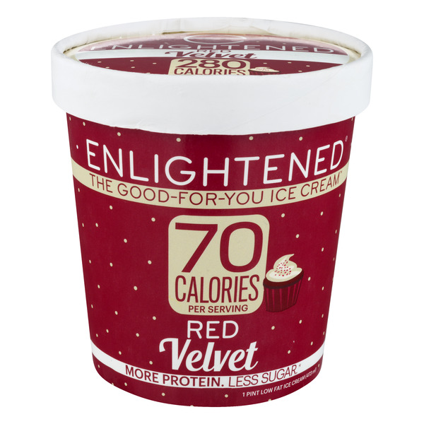 Enlightened The Good For You Ice Cream Red Velvet