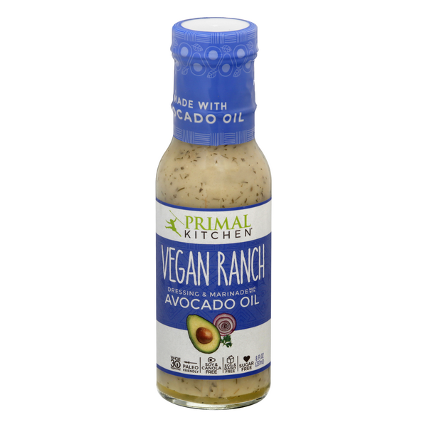 Primal Kitchen Dressing & Marinade Vegan Ranch Made with Avocado Oil