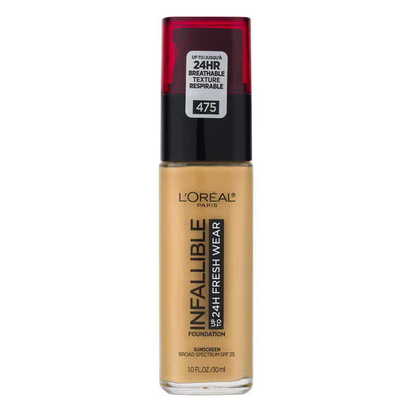 L'Oreal INFALLIBLE up to 24H Fresh Wear Foundation Sun Beige 475