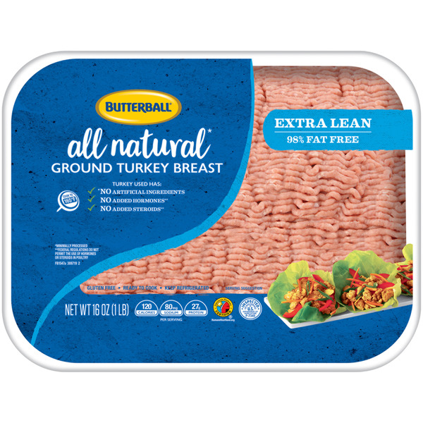 Butterball Ground Turkey Extra Lean 98% Lean