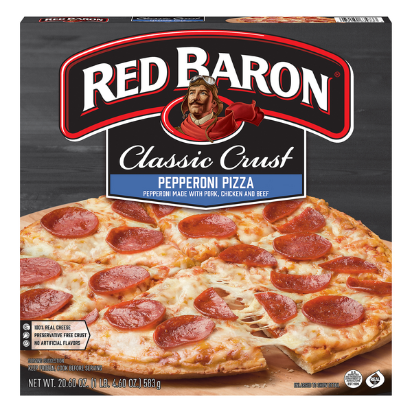 Red Baron Classic Crust Pizza Pepperoni