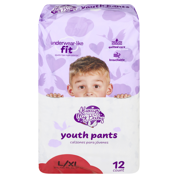 Always My Baby Youth Pants L/XL 60-125 lbs