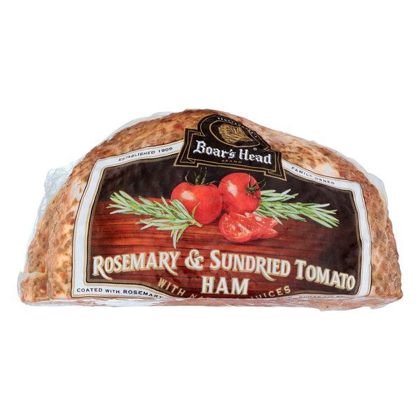 Boar's Head Deli Ham Rosemary & Sun Dried Tomato (Regular Sliced)