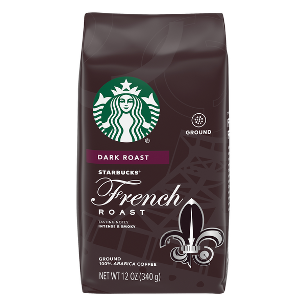 Starbucks French Roast Dark Coffee (Ground)