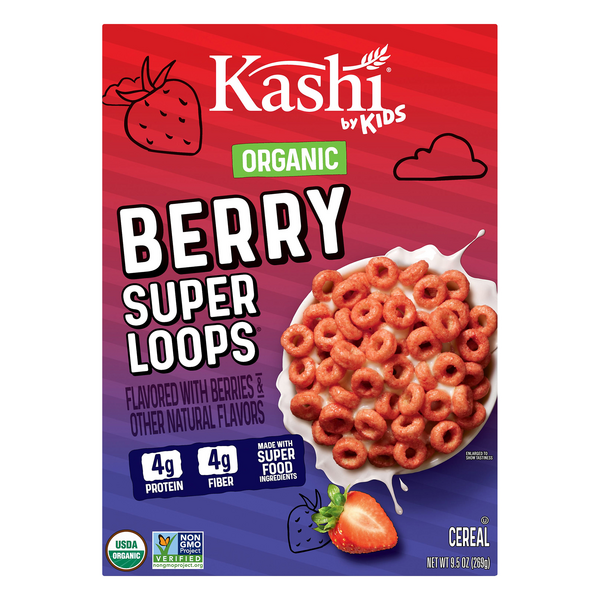Kashi By Kids Cereal Berry Super Loops Organic