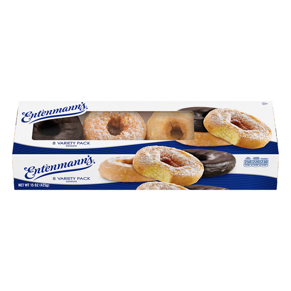 Entenmann's Donuts Classic Variety Pack - 8 ct