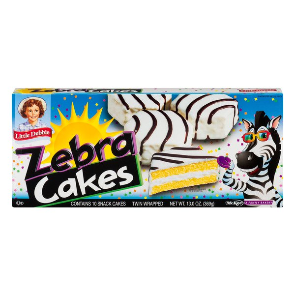 Little Debbie Zebra Cakes Classic Yellow - 10 ct