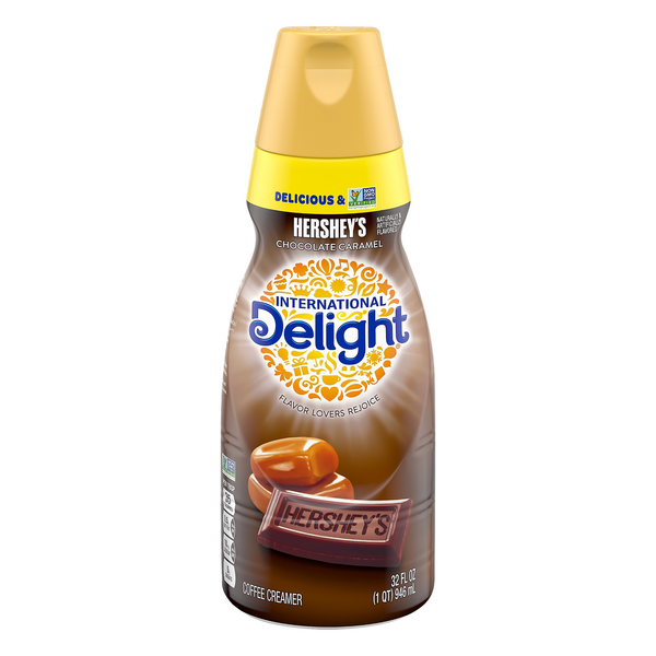 International Delight Coffee Creamer Hershey's Chocolate Caramel