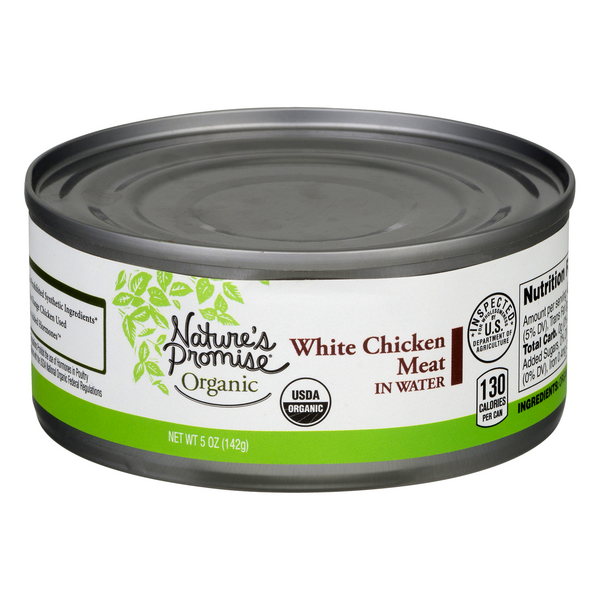 Nature's Promise Organic White Chicken Meat in Water