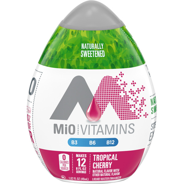 MiO Vitamins Liquid Water Enhancer Tropical Cherry - 12 Servings