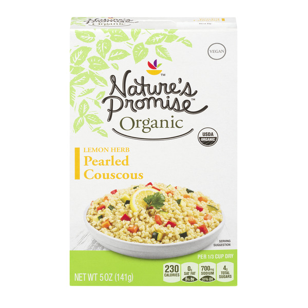 Nature's Promise Organic Pearled Couscous Lemon Herb