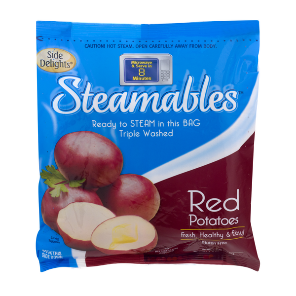 Simply Spuds Steamables Potatoes Red Microwave Ready Bag