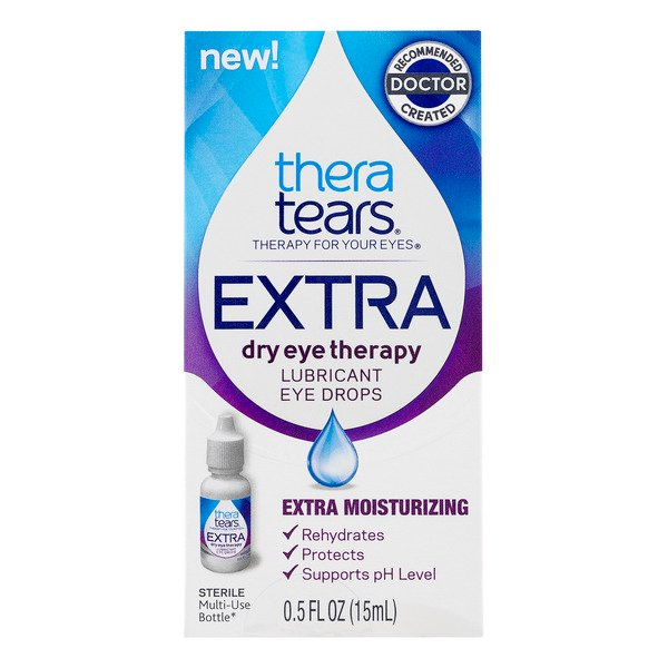 TheraTears Extra Lubricant Eye Drops Extra Moisturizing