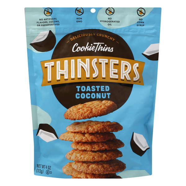 Mrs. Thinster's Cookie Thins Toasted Coconut