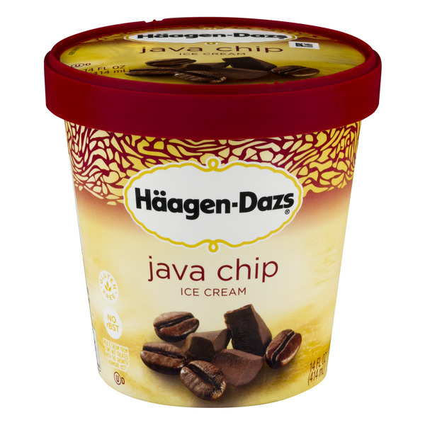Haagen-Dazs Ice Cream Java Chip All Natural