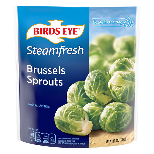 Birds Eye Steamfresh Brussels Sprouts All Natural