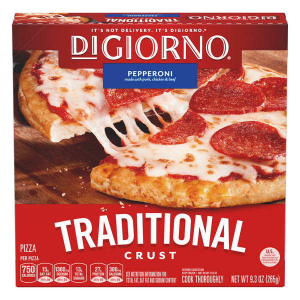 DiGiorno Traditional Crust Pizza Pepperoni