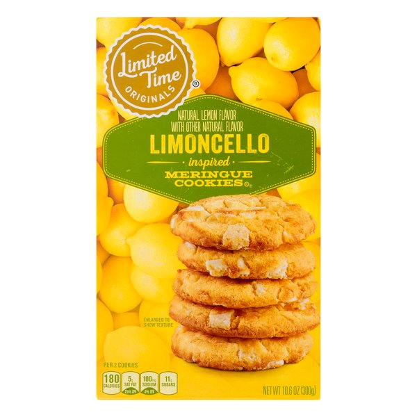 Stop & Shop Limited Time Limoncello Inspired Meringue Cookies